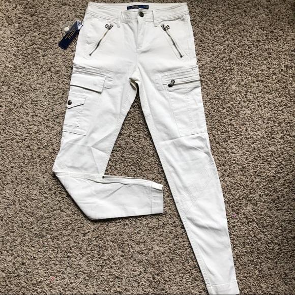 0 Cargo Skinny Sz Nwt Ralph Lauren Pants Polo Zip 34RjL5A